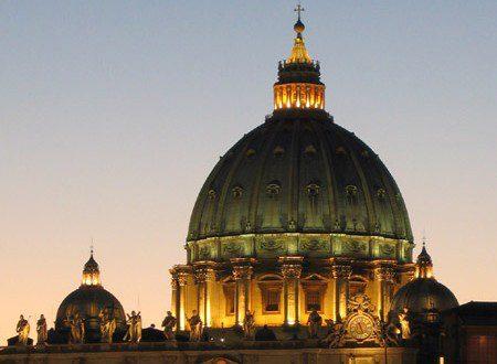 La cupola di San Pietro dal sito www.noidiroma.com