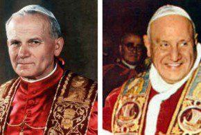 canonizzazione dei papi a roma