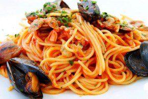 ricetta spaghetti alla pescatora