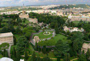 visita guidata ai giardini vaticani