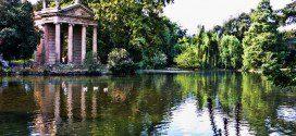riapertura laghetto villa borghese