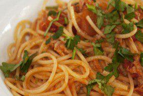 Ricetta Spaghetti col Tonno alla Romana
