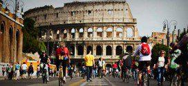 visitare roma in bici