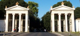 il parco villa borghese a roma