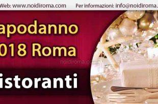 ristoranti capodanno roma 2015