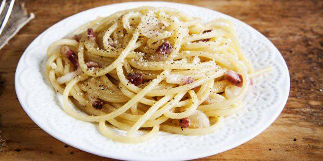 Ricetta spaghetti alla gricia for Primi piatti romani