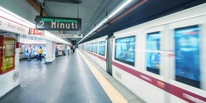 muoversi a roma in metro