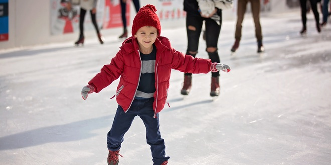 pattinaggio sul ghiaccio a roma