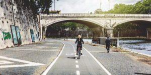 muoversi a roma in bicicletta
