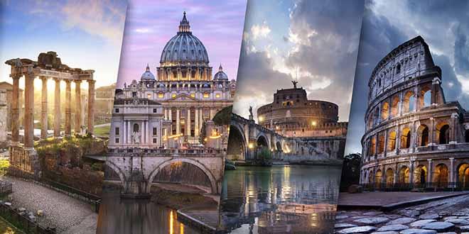 Scopri i migliori 10 monumenti da visitare a Roma