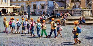 andare roma bambini