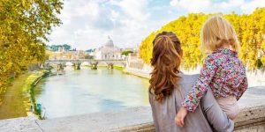 visitare roma con i bambini