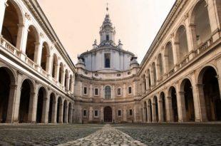 chiesa sant ivo alla sapienza roma