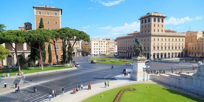 piazza venezia a roma