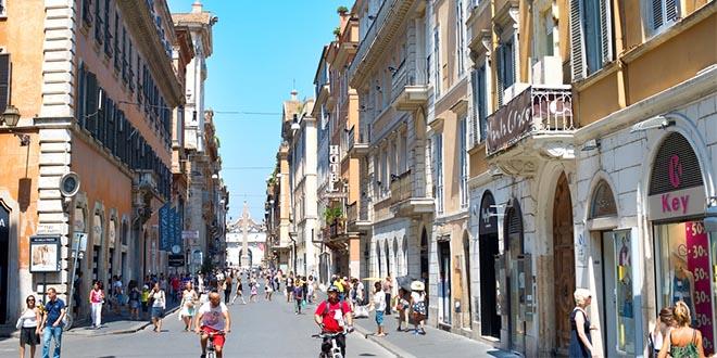 vie dello shopping roma