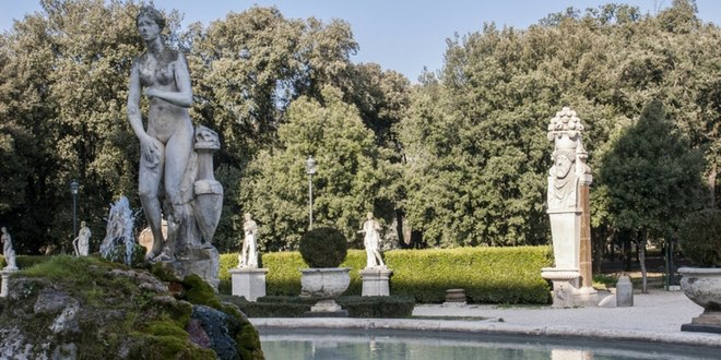 villa borghese a roma