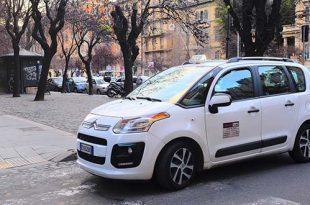 prenotare un taxi a roma